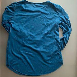Shirts - Men's Long Sleeve Rounded Hem Casual Shirt